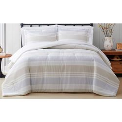 Cottage Classics Spa Stripe Comforter Set