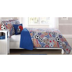 My World Kids Sports Express Quilt Set
