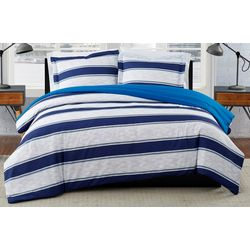 London Fog Watkins Stripe Comforter Set
