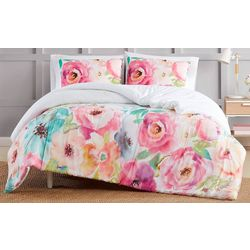 Christian Siriano Spring Flowers Comforter Set