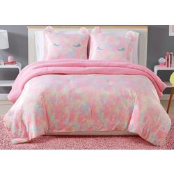 Kids Rainbow Sweetie Comforter Set