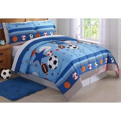 My World Kids Sports & Stars Comforter Set