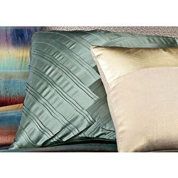 Vince Camuto Lille V Pleat Square Pillow
