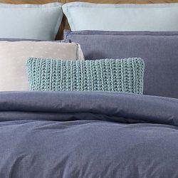 Brooklyn Loom Chambray Loft Rectangle Pillow