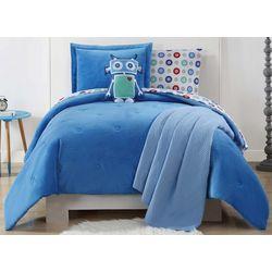 My World Kids Velvet & Jersey Comforter Set