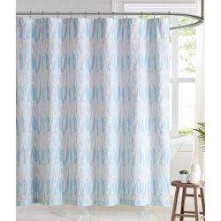 Brooklyn Loom Trevor Shower Curtain