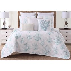 Oceanfront Resort Cove Quilt Set