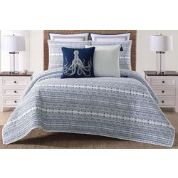 Oceanfront Resort Reef Quilt Set
