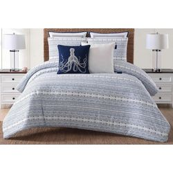 Oceanfront Resort Reef Duvet Set
