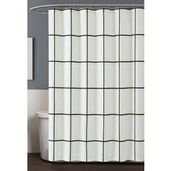 Truly Soft Kurt Windowpane Shower Curtain