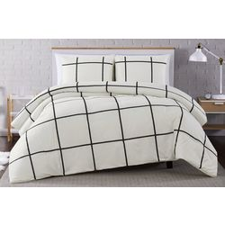 Truly Soft Kurt Windowpane Comforter Set