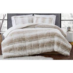Christian Siriano NY Snow Leopard Comforter Set