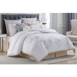 Charisma Home Riva Cotton Printed 4 Piece Duvet Cover Set
