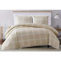 Truly Soft Leon Plaid Duvet Cover Set