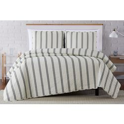 Truly Soft Millenial Stripe Quilt Set