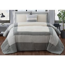 London Fog Dartford Microsuede Comforter Set