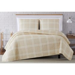Truly Soft Leon Plaid Quilt Set