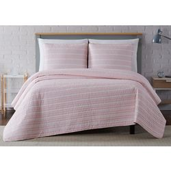 Truly Soft Maddow Stripe Quilt Set