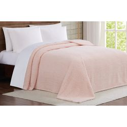 Brooklyn Loom Marshmallow Sherpa Blanket