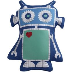 Laura Hart Kids Roboto Decorative Pillow