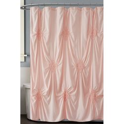 Christian Siriano NY Georgia Rouched Shower Curtain