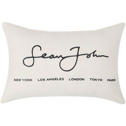 Sean John Cotton Jersey Breakfast Pillow
