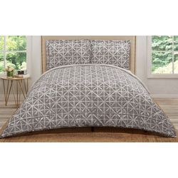 Truly Soft Grey Celine Comforter Set