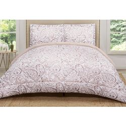 Truly Soft Blush Pink Watercolor Comforter Set