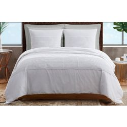 Sean John White Denim Comforter Set