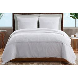 Sean John White Denim Comforter Set