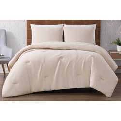 Brooklyn Loom Solid Woven Matelasse Comforter Set