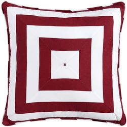 Oceanfront Resort Nautcial Charm Geometric Pillow