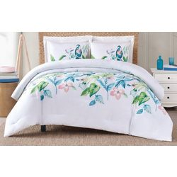 Oceanfront Resort Tropical Bungalow Comforter Set