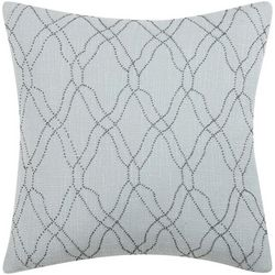 Charisma Home Harmony Embroidered Pillow