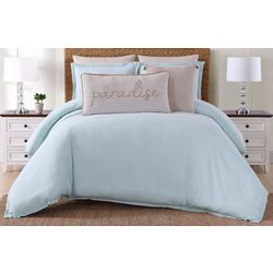 Oceanfront Resort Chambray Coast Duvet Set