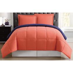 Everyday Solid Reversible Comforter Set