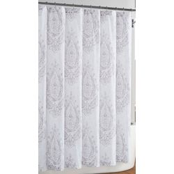 Cottage Classics Paisley Blossom Shower Curtain