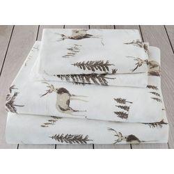 London Fog Woodlands Cotton Flannel Sheet Set