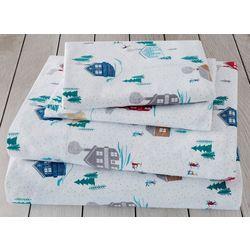 London Fog Chalet Cotton Flannel Sheet Set