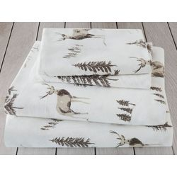 London Fog Woodlands Cotton Flannel Sheet Set