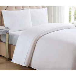 Charisma Home 610 Thread Count Solid Queen Sheet Set