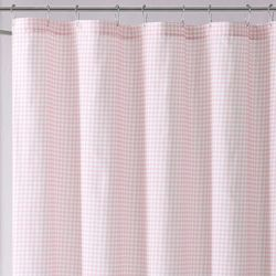 My World Kids Gingham Shower Curtain