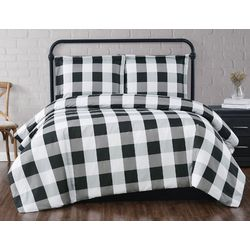 Truly Soft Everyday Buffalo Plaid King XL Comforter Set