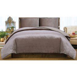 Christian Siriano Crinkle Velvet Comforter Set