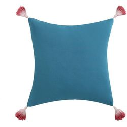 Oceanfront Resort Coco Paradise Tassel Pillow