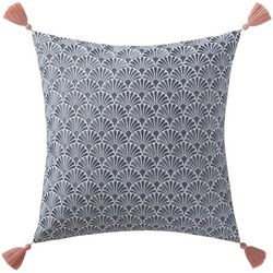 Oceanfront Resort Indienne Scallop Tassel Pillow