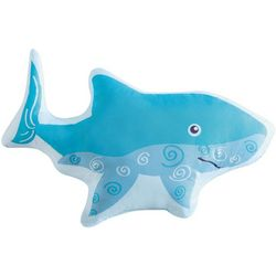Laura Hart Kids Deep Blue Sea Shark Decorative Pillow