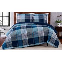 Truly Soft Trey Plaid Quilt Set