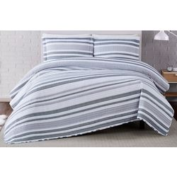 Truly Soft Curtis Stripe Quilt Set