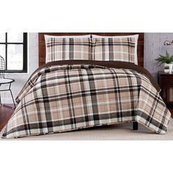 Truly Soft Paulette Plaid Stripe Quilt Set